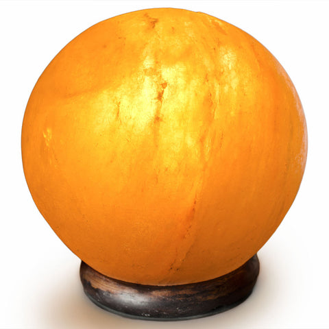 Natural Himalayan Globe Shape Salt Lamp