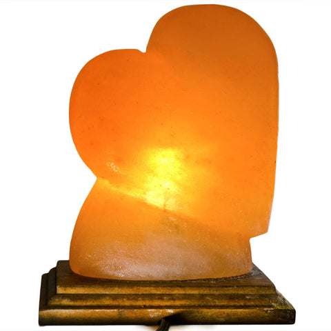 Natural Himalayan Heart Shape Salt Lamp