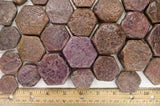 "Large Ruby in Natural Hexigonal Shape - ""A"" Grade"