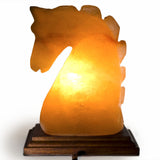 Natural Himalayan Horse Head Salt Lamp