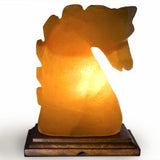 Natural Himalayan Horse Head Shape Salt Lamp