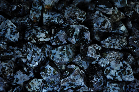 Indigo Gabbro Mine Run Rough - Madagascar