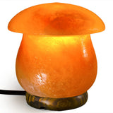 "Natural Himalayan Mushroom Salt Lamp - 5.5"" tall avg."