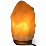 Natural Himalayan Salt Lamp - 2-3 kg avg. Set of Six