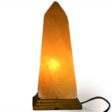 Natural Himalayan Obelisk Shaped Salt Lamp.