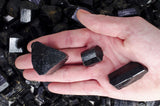 High Grade Black Tourmaline Rods from Pakistan
