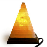 Natural Himalayan Pyramid Shaped Salt Lamp.