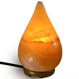 Natural Himalayan Tear Drop Shape Salt Lamp.