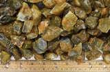 Yellow Carnelian Mine Run Rough
