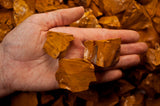 Yellow Jasper Mine Run Rough - Madagascar