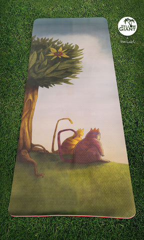 """Tails"" as homage to the book ""Where The Wild Things Are"" by Maurice Sendak"