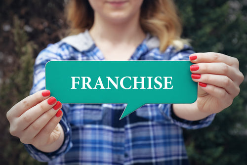 What is the difference between a franchise and a franchisee?