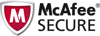 McAfee Secure - security badge