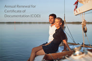 US Coast Guard Annual Renewal for Certificate of Documentation (COD) Order Form