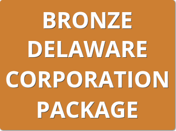 Bronze Delaware Corporation Package Order Form