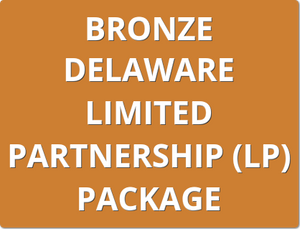 Bronze Delaware General Partnership (GP) Package Order Form
