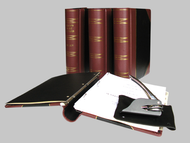 Post Binder 1/4 Bind Leather Corporate Kit - Delaware Business Incorporators, Inc.