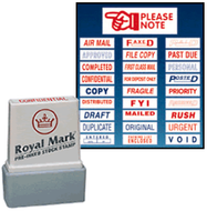 Pre-Inked Rubber Seal & Rubber Stamp Corporate Package Order Form