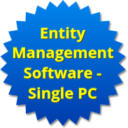 Entity Management Software - Single PC Version