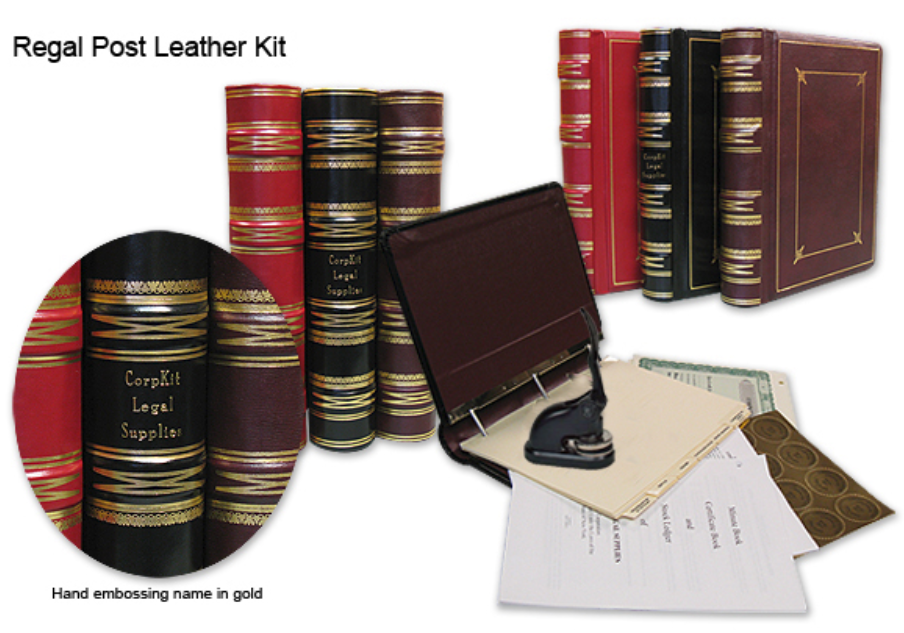 Post Regal Leather Corporate Kit Order Form