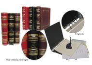 3 Ring Regal Leather Corporate Kit - Delaware Business Incorporators, Inc.