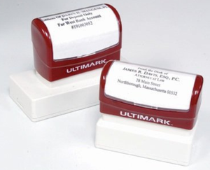 Ultimark Pre-Inked Rubber Stamp Order Form