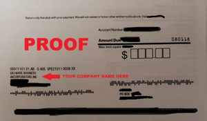 USA Phone Number with Utility Bill Proof