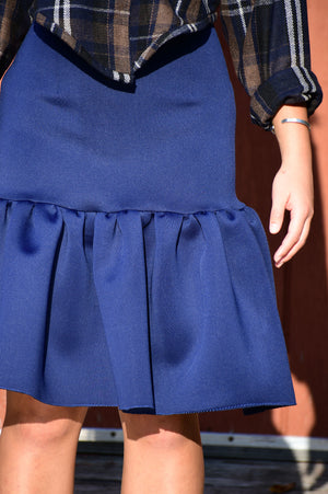 Blue Mermaid Skirt