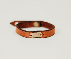 Leather Rivets Bracelet