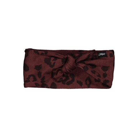 LFOH Darcy Headband (mulberry cheetah)