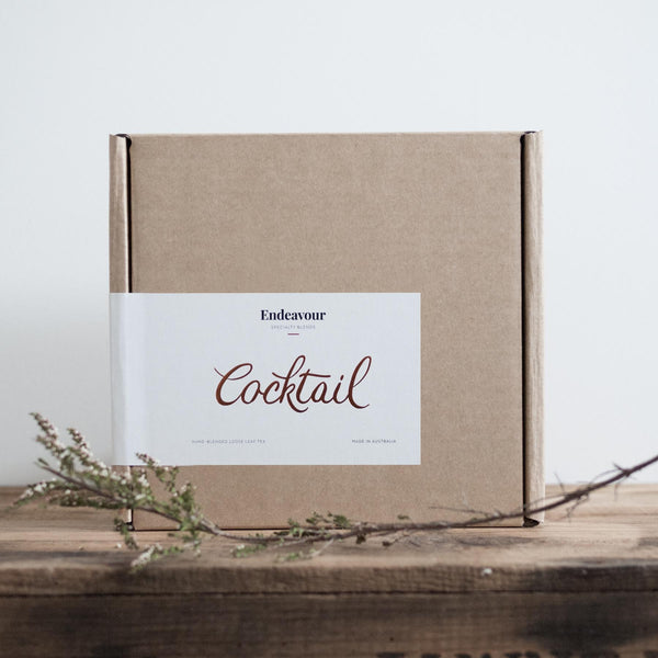 Endeavour Tea — Cocktail Tea Chest, gift box
