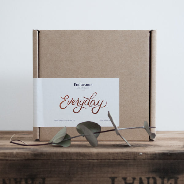 Endeavour Tea — Everyday tea chest, gift box
