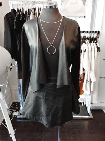 faux-leather-cardigan-skirt