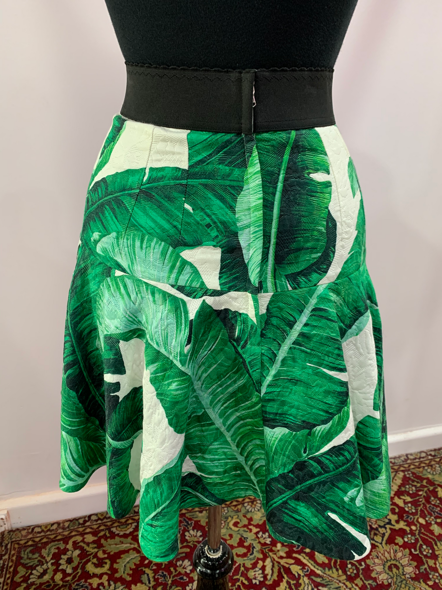 Dolce & Gabbana Palms Mini Skirt
