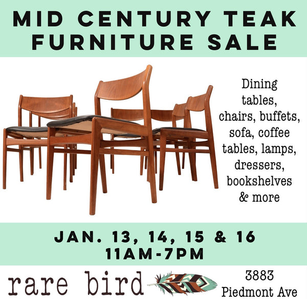 Mid Century Teak Furniture Sale!