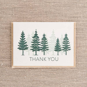Thank You Trees Card