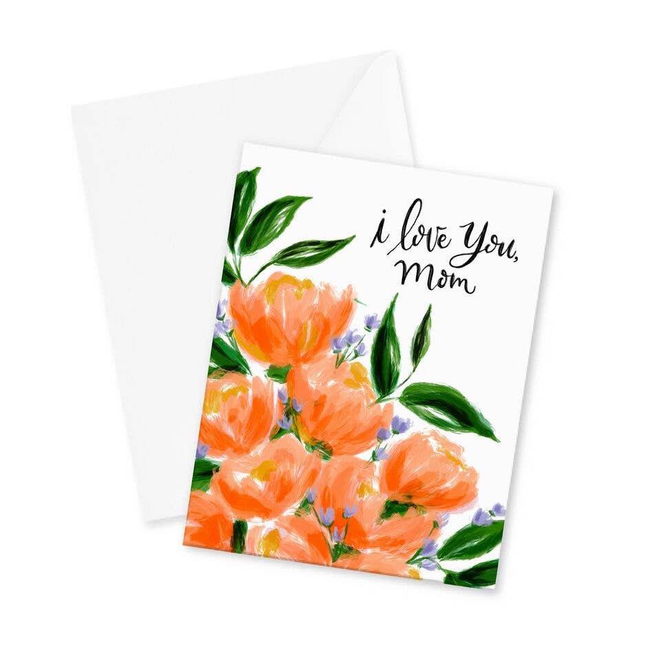 I Love You, Mom Card