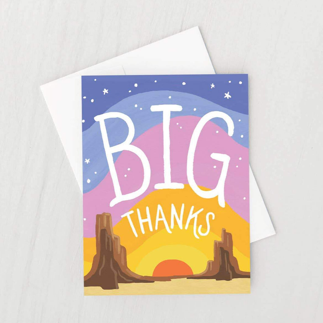Idlewild - Big Thanks Card