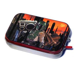 Star Wars Boba Fett Mint Tin Boombox