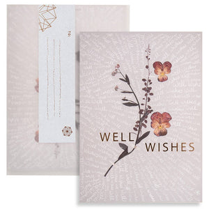 "PAPAYA - Greeting Card ""Well Wishes"""