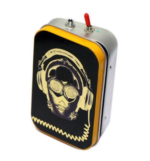 Star Wars C3P0 Mint Tin Boombox