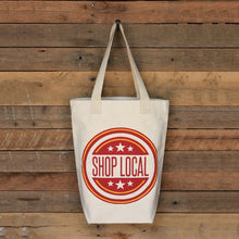 Shop Local Canvas Tote Shopping Bag