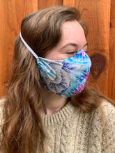 Adult Mask w/ Filter Pocket ~ Pastel Rainbow Print