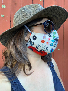 Limited Edition Adult Mask w/ Filter Pocket ~ Lady of the Canyon #2