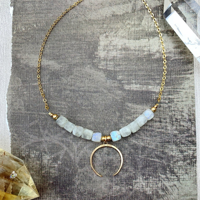 Mollie Necklace - Moonstone