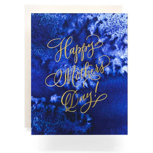 Happy Mothers Day Indigo Card
