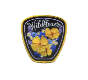 Iron On Patch - Wildflower