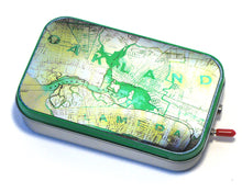 Vintage Oakland Map Mint Tin Boombox