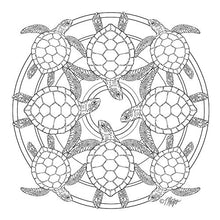 Animal Life: Nature Mandala Coloring Book