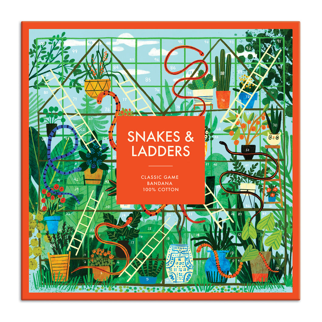 Snakes and Ladders Classic Game Bandana